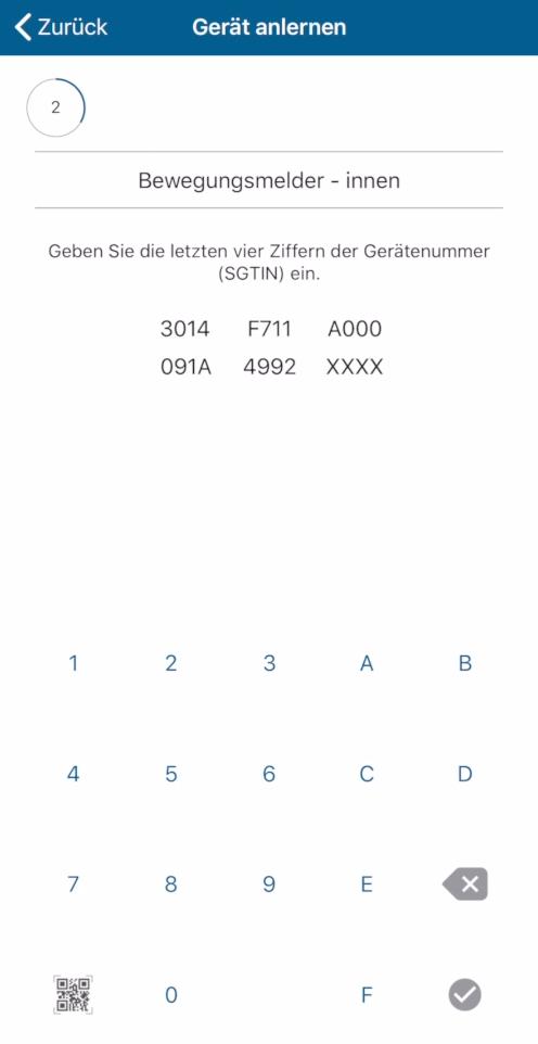 Homematic IP Access Point - Homematic Gerätenummer