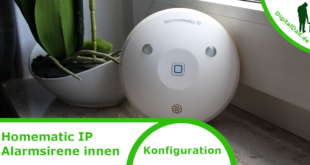 Homematic IP Alarmsirene innen