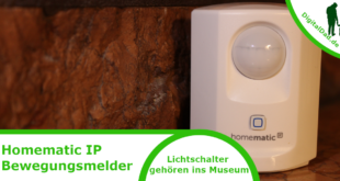Homematic IP Bewegungsmelder