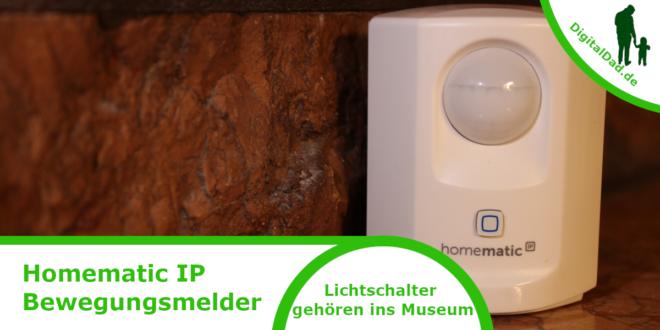 Homematic IP Bewegungsmelder