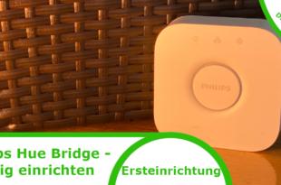 Philips Hue Bridge einrichten