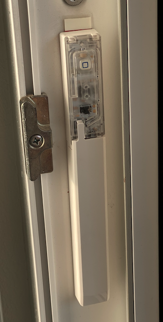 Homematic IP Fenster- und Türkontakt verdreckter Einbau