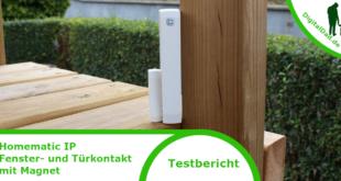 Homematic IP Fenster- und Türkontakt mit Magnet