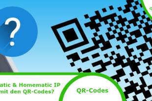 Homematic QR-Codes