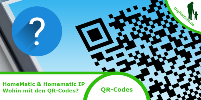 Homematic QR-Codes