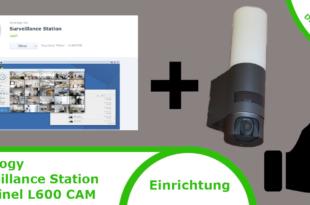 Synology Surveillance Station & Steinel L600 CAM