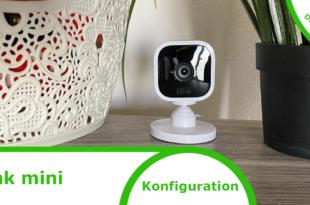 Konfiguration Blink Mini Kamera