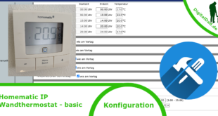 Homematic IP Wandthermostat Basic