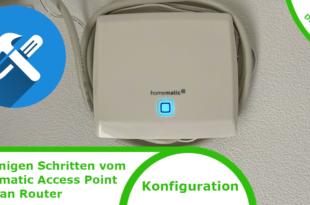 Homematic Access Point zum Lan Router wandeln
