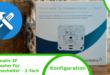Homematic IP Wandtaster für Markenschalter 2fach