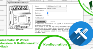 Homematic IP Wired Rollladenaktor