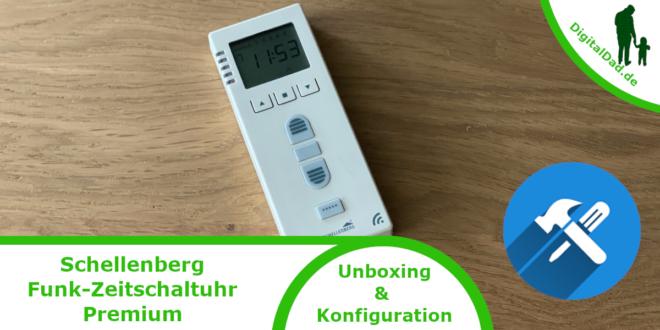 Schellenberg Funk Zeitschaltuhr Premium