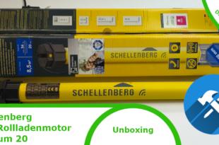 Schellenberg Funk-Rollladenmotor Premium